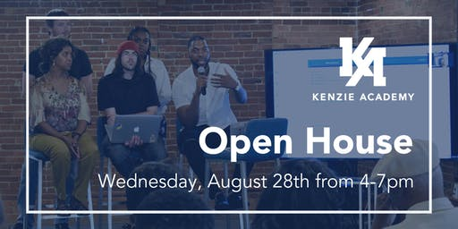 Kenzie Academy Open House August 2019