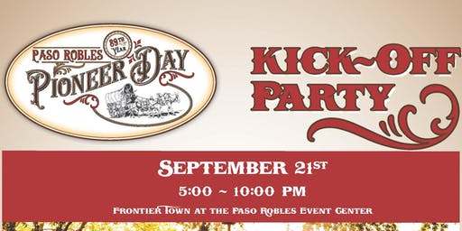 Pioneer Day Kick-Off Party!