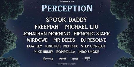 PERCEPTION 2019 tickets