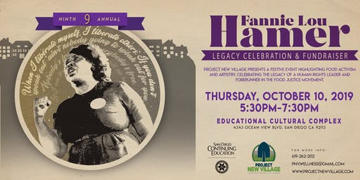 9th annual Fannie Lou Hamer Legacy Celebration