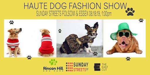 Haute Dog Fashion Show at Sunday Streets SoMa