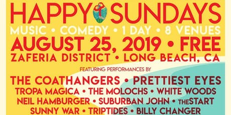 Happy Sundays w/ The Coathangers+Cat Scan+Birth Defects+Rats In The Louvre tickets