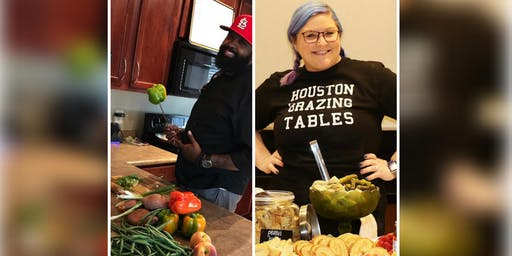 Houston's Master of Chef's Cook-off!