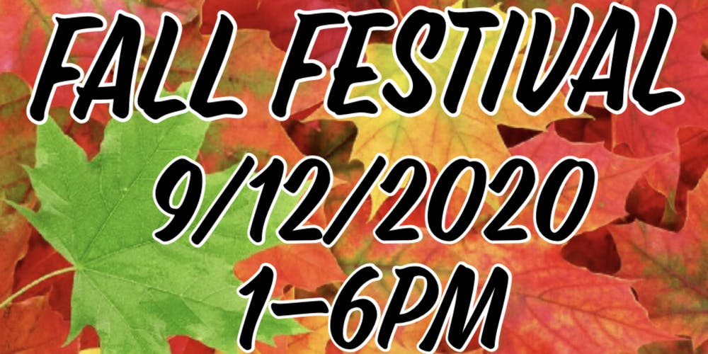 Fall Festival 2020.Fall Festival Craft Vendor Show Tickets Sat Sep 12 2020