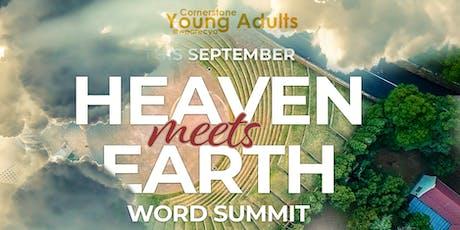 Heaven Meets Earth Word Summit tickets