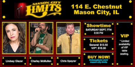 Lindsay Glazer at Mason City Limits Comedy Club tickets