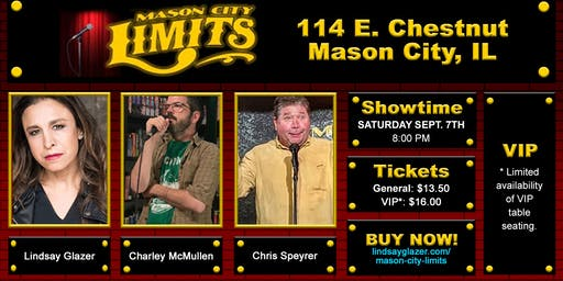 Lindsay Glazer at Mason City Limits Comedy Club