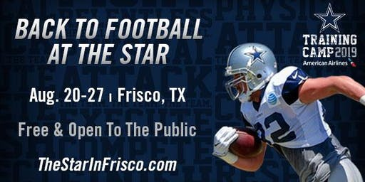 Training Camp at The Star in Frisco presented by American Airlines