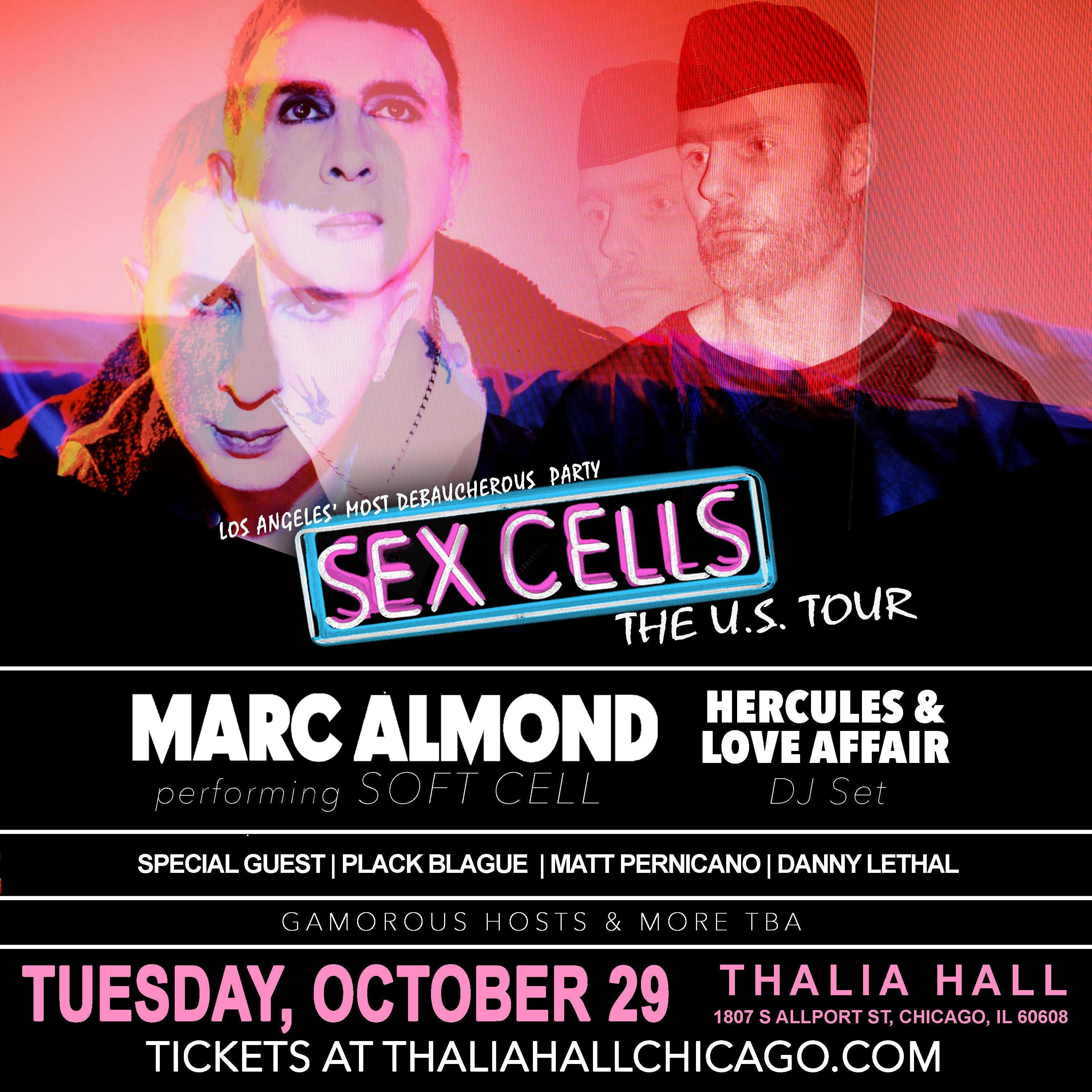 Marc Almond (Soft Cell) with Hercules & Love Affair, Plack Blague, Matt Pernicano, and Danny Lethal
