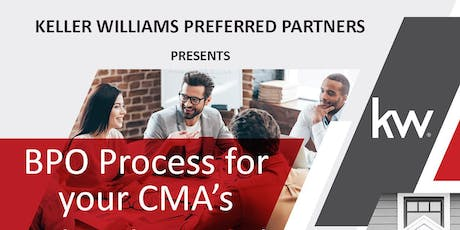 BPO Process for your CMA's with Dolores Roth tickets