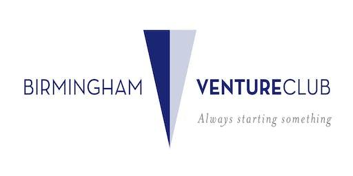 August 22, 2019 Birmingham Venture Club Meeting with Bobby Henebry