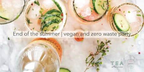 End of the summer | vegan and zero waste party tickets