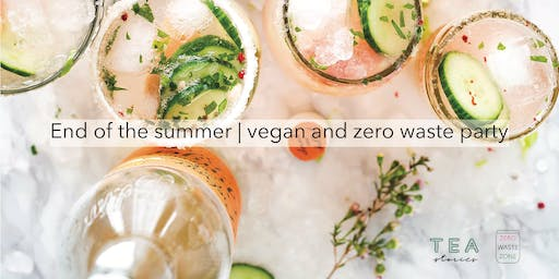 End of the summer | vegan and zero waste party
