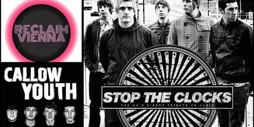 Stop the Clocks - Oasis Tribute Band -Northwich Festival 2019