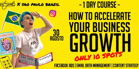 HOW TO ACCELERATE YOUR BUSINESS GROWTH* tickets