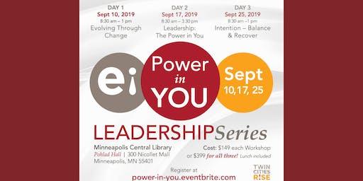 Power in You Leadership Series