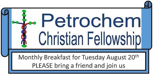 Petrochem Christian Fellowship Breakfast August 20th 2019