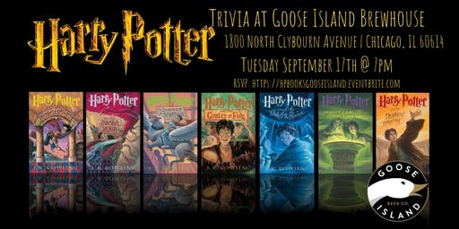 Harry Potter (Books) Trivia at Goose Island Brewhouse Chicago