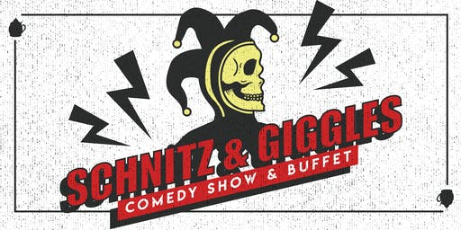 Schnitz & Giggles: A Night of Comedy, Food & Drink