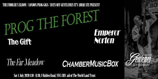 Prog The Forest 2020 - Prog rock charity festival raising funds for the World Land Trust