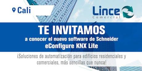 Lanzamiento de nuevo software de Schneider eConfigure KNX Lite entradas