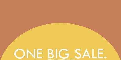 Satori Warehouse Sale tickets