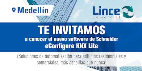 Lanzamiento de nuevo software de Schneider eConfigure KNX Lite tickets