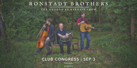 Ronstadt Brothers CD Release Show tickets