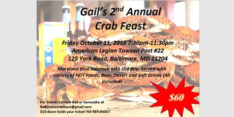 Crab Feast tickets