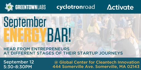 September EnergyBar: Cyclotron Road @ Greentown Labs tickets