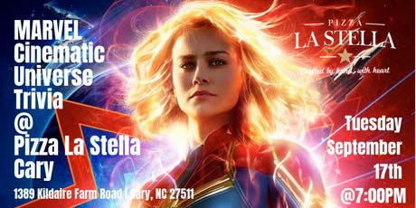 Marvel Cinematic Universe Trivia at Pizza La Stella Cary tickets