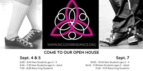 McGovern Irish Dance Open House tickets