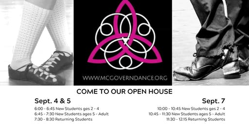 McGovern Irish Dance Open House