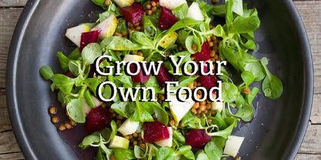 Grow Your Own Food: Organic Vegetables Made Easy tickets