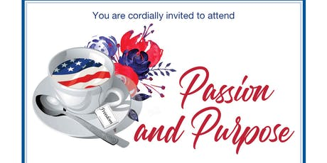 """Passion and Purpose"" Afternoon Tea and Awards tickets"