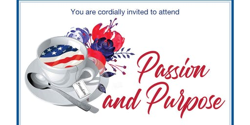 """Passion and Purpose"" Afternoon Tea and Awards"