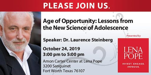 Age of Opportunity: Lessons from the New Science of Adolescence