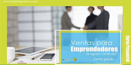 Ventas para emprendedores entradas
