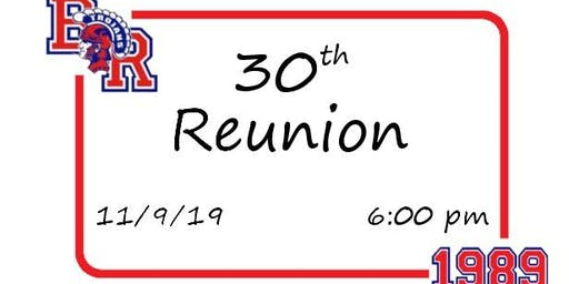 B-R Class of '89 30th Reunion