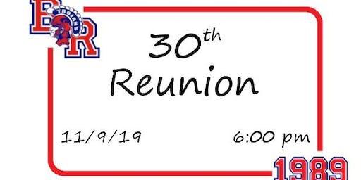 B-R Class of '89 30th Reunion