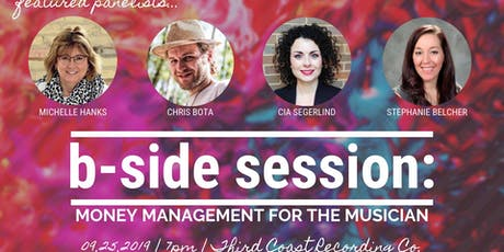 B-Side Session: Money Management for the Musician tickets