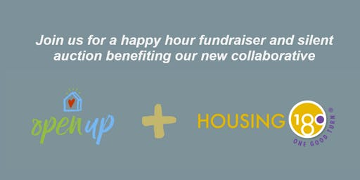 Open Up + Housing 180 Collaborative Fundraiser