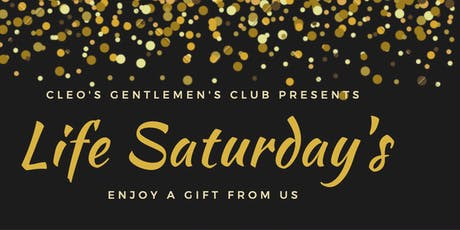 Life Saturday's at Cleo's tickets