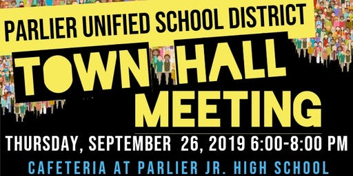 Parlier Town Hall Meeting