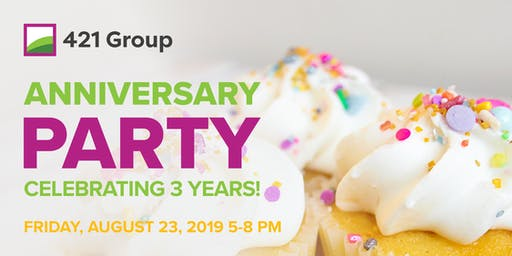 421 Group 3rd Anniversary Party