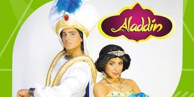 """Desconto! Espetáculo Infantil """"Aladdim"""" no Teatro Jardim Sul"""
