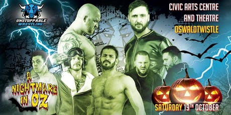 LIVE Pro Wrestling in Oswaldtwistle - A Nightmare In Oz tickets
