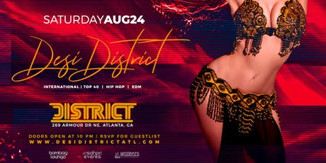 DESI DISTRICT | 8.24 tickets