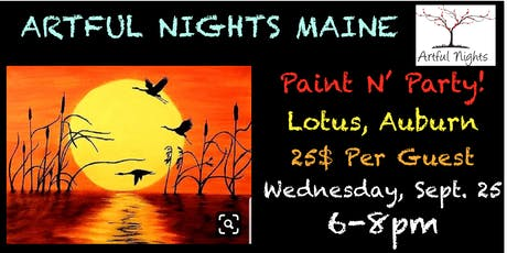 Paint N' Party at Lotus Restaurant tickets