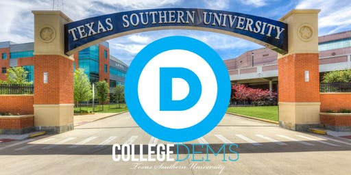 Texas Southern College Dems Presidental Candidate meet & Greet